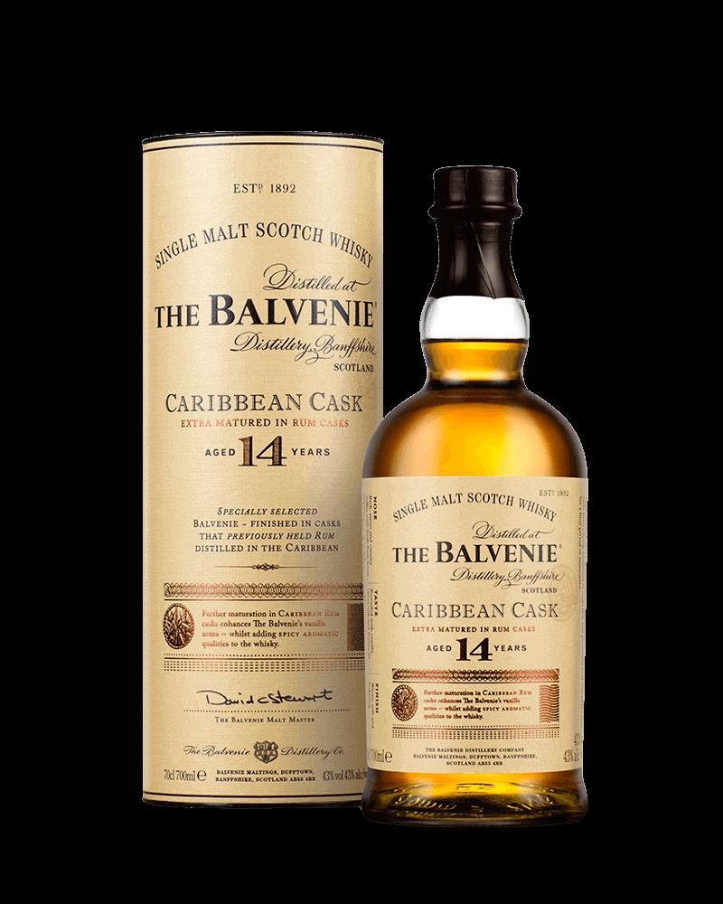 百富14年加勒比海蘭姆桶單一麥芽威士忌