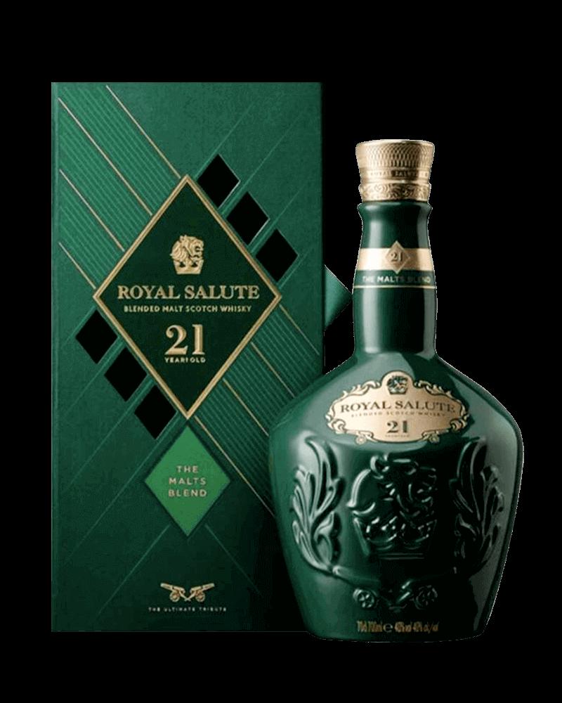 皇家禮炮21年(綠盒)調和式麥芽威士忌