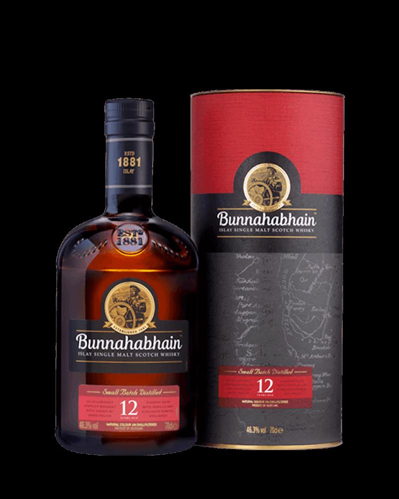 布納哈本12年單一麥芽艾雷島威士忌