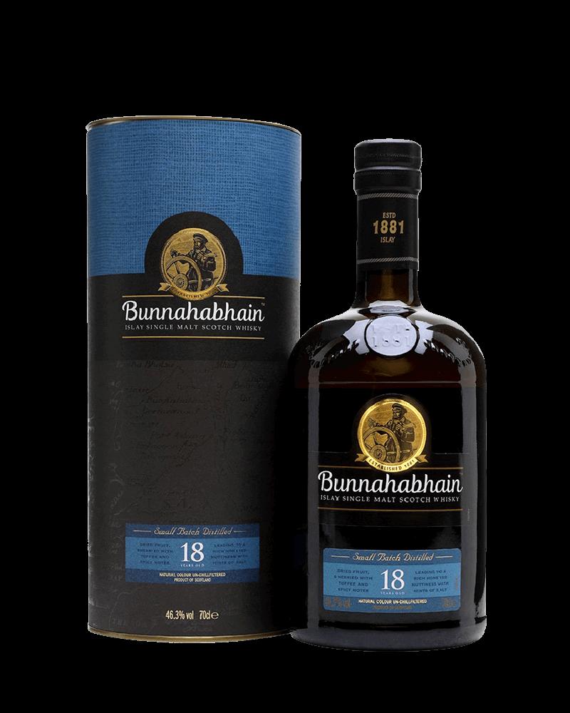 布納哈本18年單一麥芽艾雷島威士忌