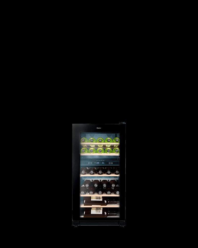 海爾31瓶電子式雙溫恆溫儲酒冰酒櫃