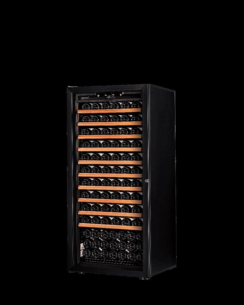 EuroCave超值入門熟成169瓶酒櫃(黑/紅框玻璃門)