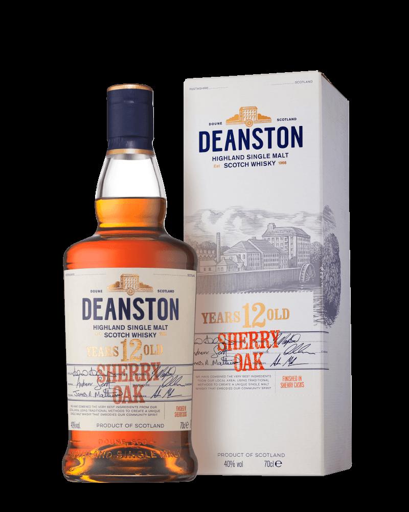 汀士頓重雪莉桶12年單一麥芽蘇格蘭威士忌 贈品酒杯