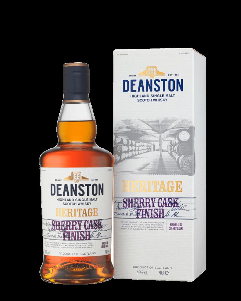 汀士頓1785傳承雪莉桶單一麥芽蘇格蘭威士忌 贈品酒杯