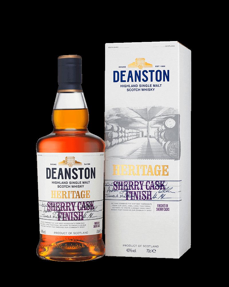 汀士頓1785傳承雪莉桶單一麥芽蘇格蘭威士忌|贈品酒杯