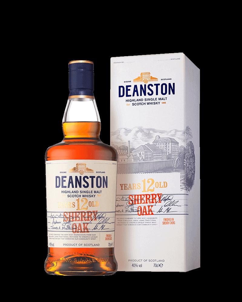 汀士頓重雪莉桶12年單一麥芽蘇格蘭威士忌|贈品酒杯