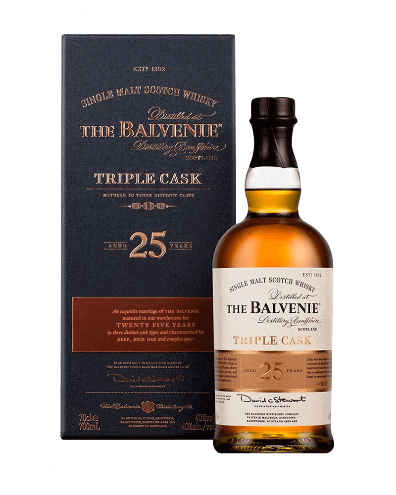 百富25年三桶單一純麥威士忌