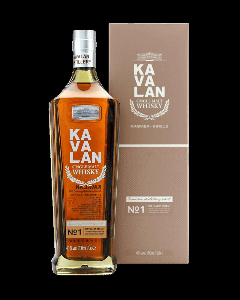 噶瑪蘭珍選No.1單一麥芽威士忌
