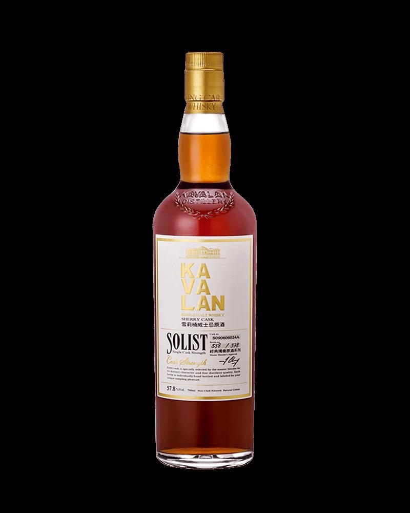 噶瑪蘭經典獨奏Oloroso雪莉桶單一麥芽威士忌原酒