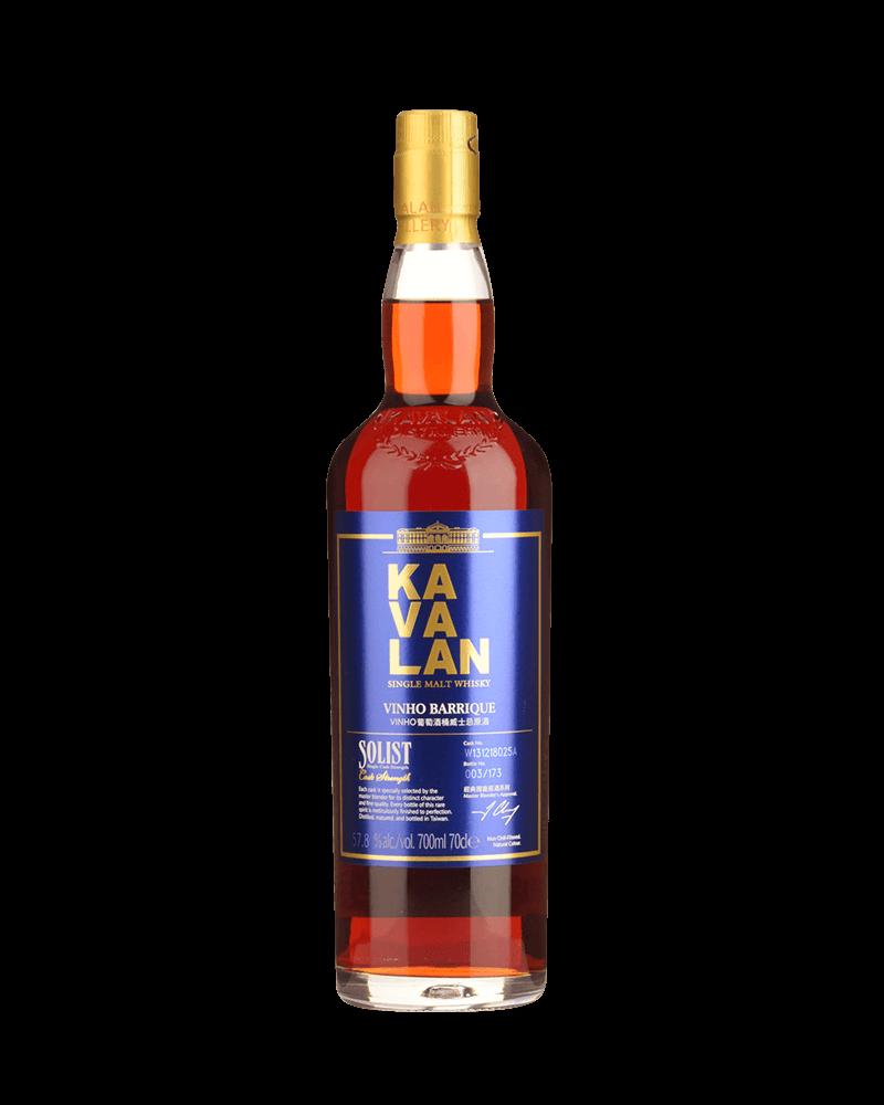 噶瑪蘭經典獨奏Vinho葡萄酒桶單一麥芽威士忌原酒