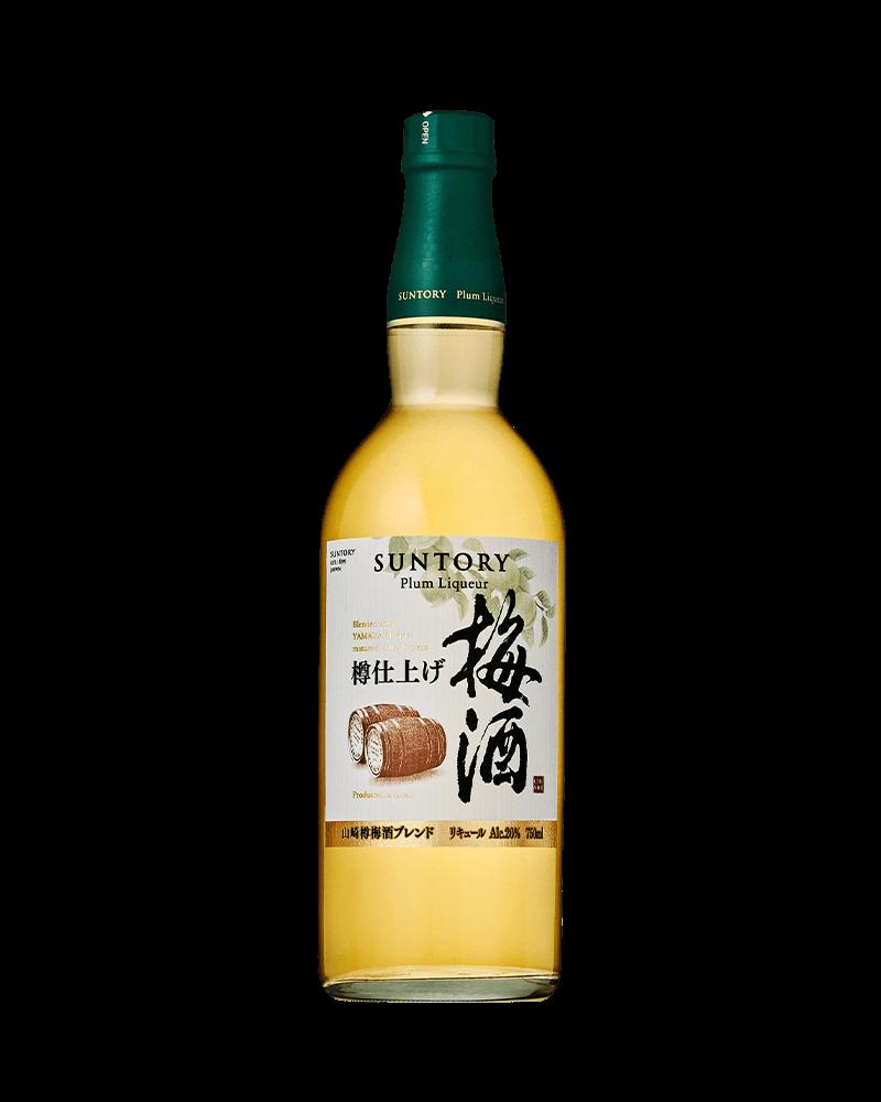 日本三得利山崎焙煎樽梅酒