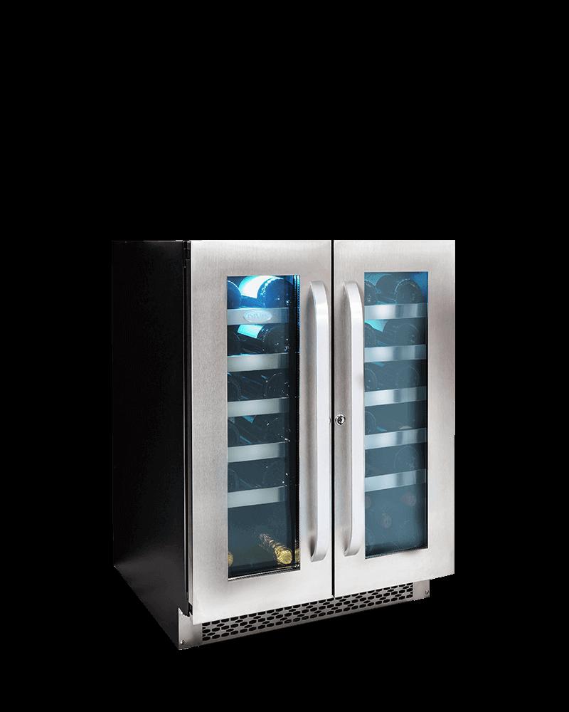 雙門雙溫葡萄酒櫃(40瓶波爾多標準瓶750mL)